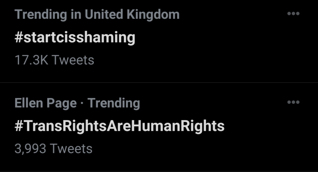 How about we shame those who deserve to be shamed? I'm trans - If we shame every cis person then how are we any different. We're meant be united, not devided. When we shame cis people, we are also shaming our allies. #startcisshaming  #TransRightsAreHumanRights
