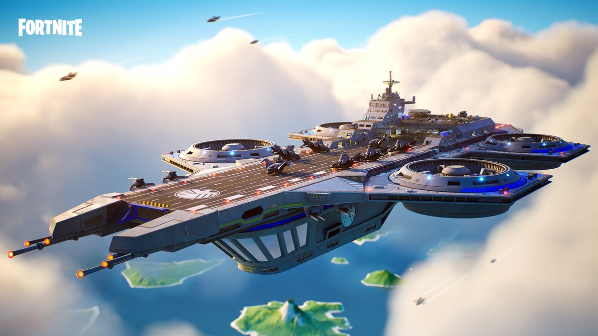 Replying to @FortniteGame: The fight against Galactus begins on the Helicarrier. You're in the right place!
