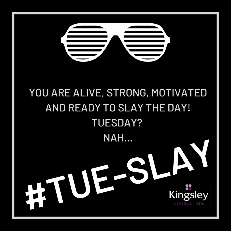Amen. 🙌  Get out there and slay this #Tuesday! You have what it takes to put everything in place. Reach deep and pull that creativity, ambition, and strength outta yourself. You got this! 💪 #tueslay #nopainnogain #tuesdaythoughts #life #success #motivation #positivevibes #goals https://t.co/lESfGy0bi1