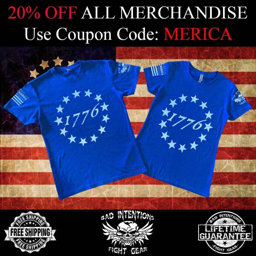 20% Off All Merchandise. Free Shipping & Lifetime Guarantee. Order yours today. https://t.co/USnWRM3ngK  #UFC #UFCFightNight #Bellator #MMA #JiuJitsu #KickBoxing #Karate #BJJ #Boxing #BKFC #Wrestling #MuayThai #Fighting #Taekwando #Follow #Merica #America #USA https://t.co/pjEfAWkWhv