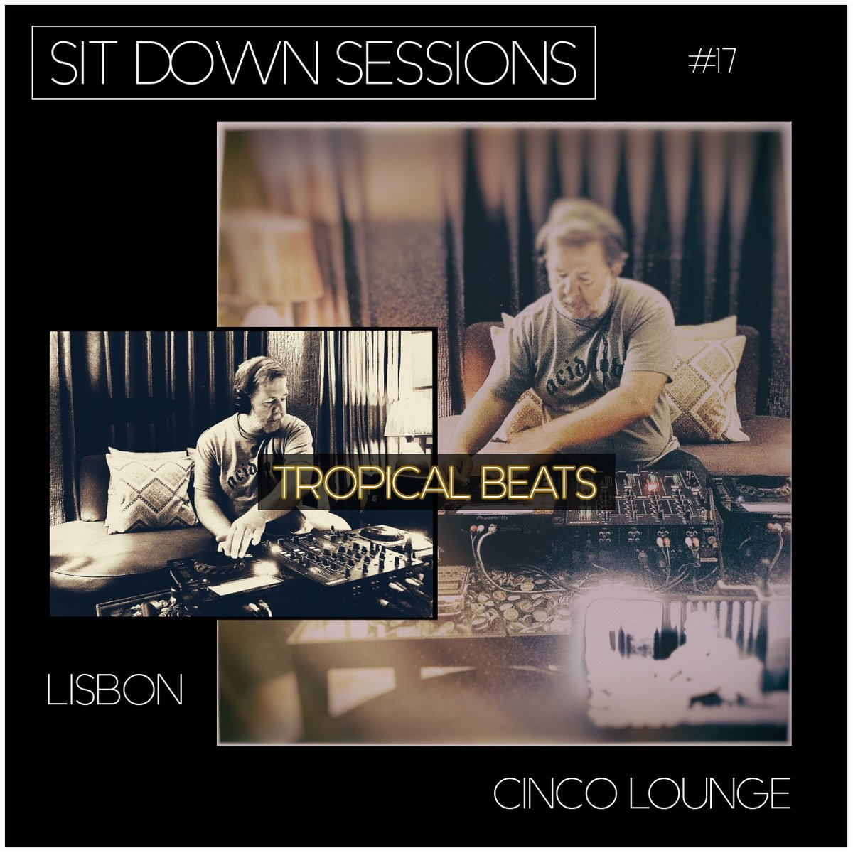 SIT DOWN SESSIONS #17 w/ Tropical Beats at @CINCOlounge (Lisbon) Saturday, October 3, 2020  #sitdownsessions #modmotif #spiritswithagroove #cincolounge #tropicalbeats #funk #raregroove #downtempo #worldmusic #electronicmusic #dj #livestream #principereal #lisboa #lisbon #portugal https://t.co/gQ5kYVMhVm