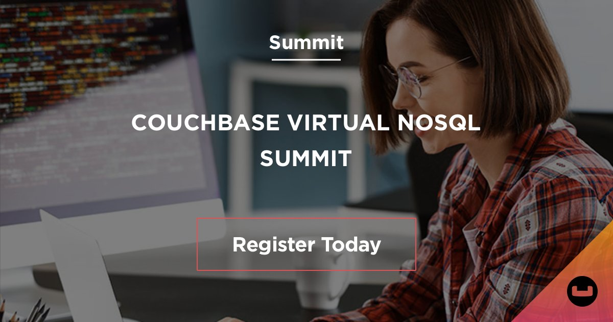 Join our #Couchbase Virtual #NoSQL Summit for a FREE event on Dec. 9, that will feature a combo of hands-on labs & tech presentations designed to help you tap the full potential of your NoSQL database. https://t.co/QgrhuxXGL2 https://t.co/OiCnxayjBH
