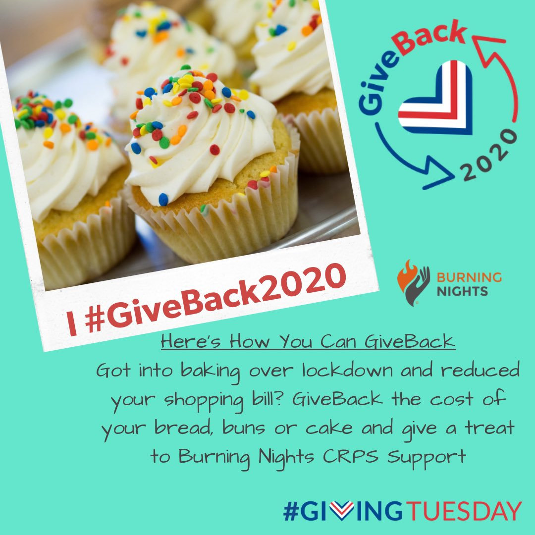 This year has been a difficult year for us all #GiveBack2020 is your chance to take something positive from 2020 & make a difference!  Started baking your own bread or cakes during lockdown? Donate the weekly cost saved to @BNightsCRPS  #GivingTuesday