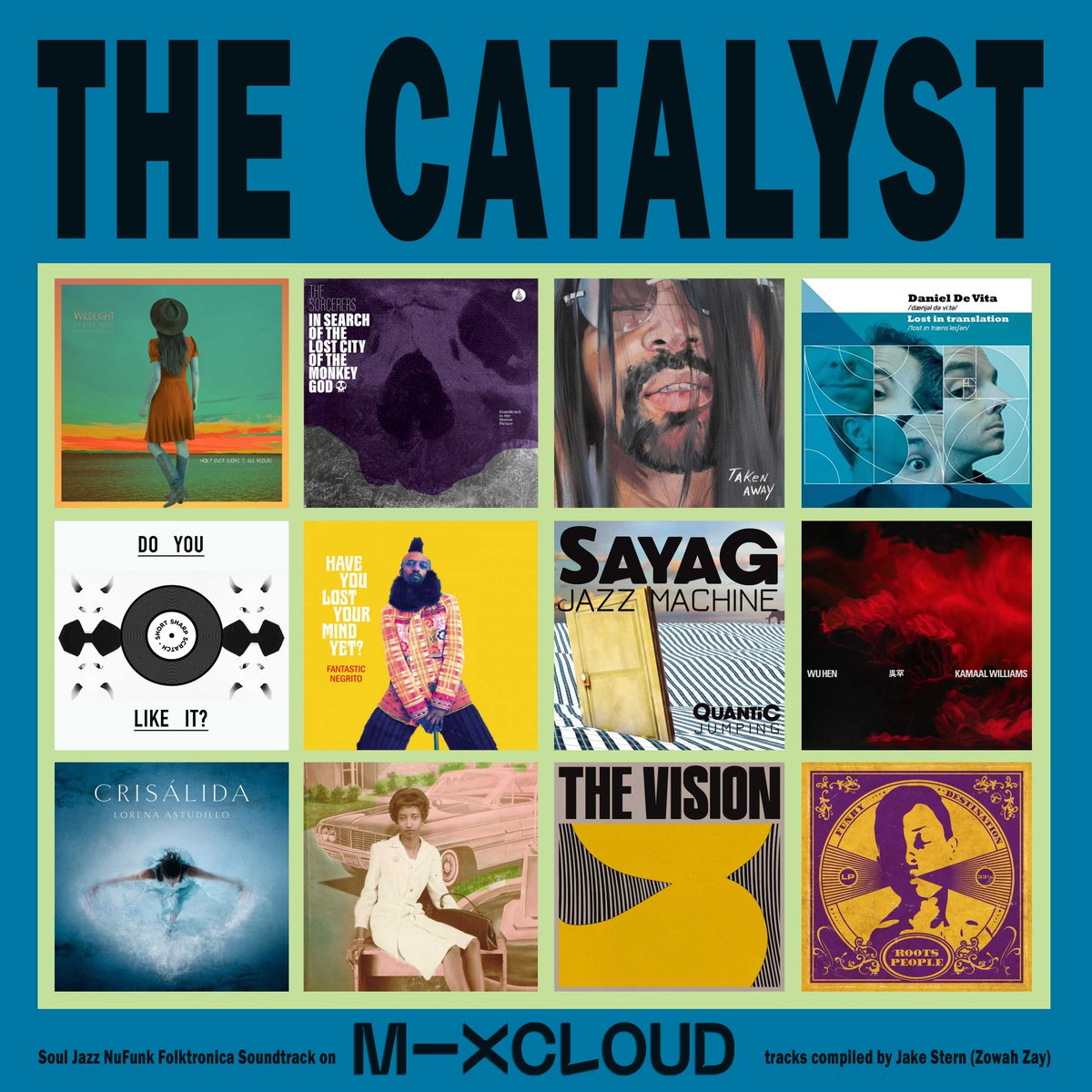 THE CATALYST #nowplaying on #Mixcloud https://t.co/gR5rWET2Eg  #NuFunk #Soul #Jazz #Disco #Funky #Soundtrack #RnB #experimental #breakbeat #downtempo #folktronica #funk #indiegroove https://t.co/UifWsoMiLi