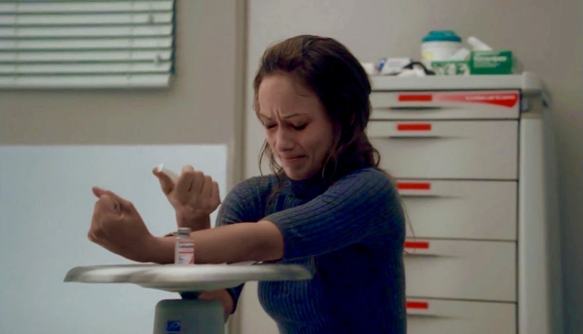 Thirteen: I don't want to die! I don't want to die!  Olivia was so great in this ep. #HouseMD https://t.co/CtMbbboPD2