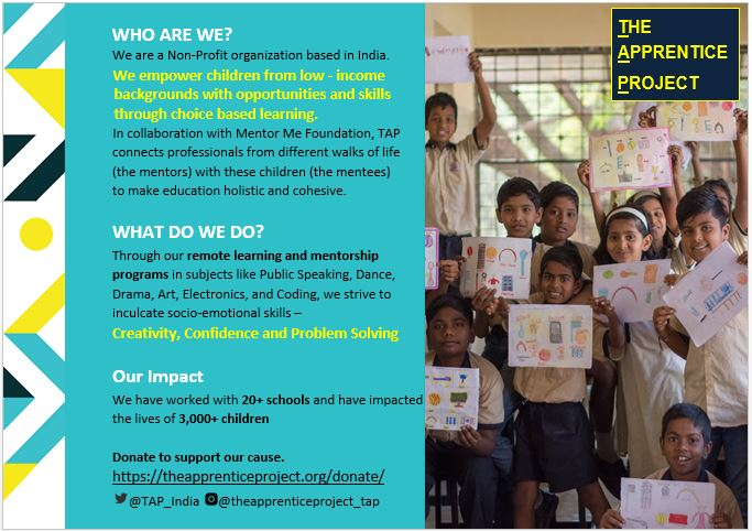 @TwitterMedia @GivingTuesday #Support us in our goal to #Empower children from low-income backgrounds to develop socio-emotional skills to explore their passion through #OnlineLearning and mentorship.  #Donate #EducationForAll #ForallChildren #GivingTuesday @GivingTuesday