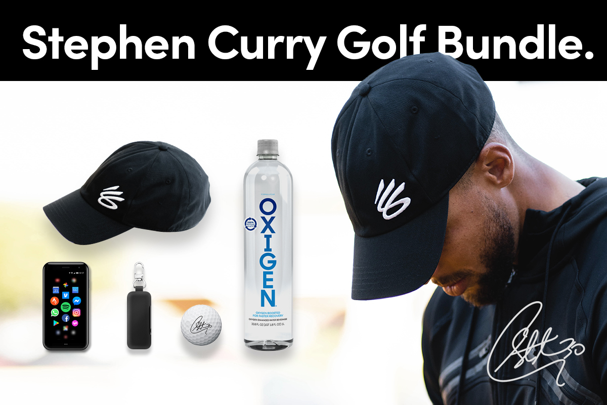It's #GivingTuesday... Here's a chance to get your hands on an EXCLUSIVE @StephenCurry30 holiday bundle, plus support the Howard Golf team at the same time. To learn more visit: . #PalmPhone #LifeMode #Golf #HoawrdUniversity