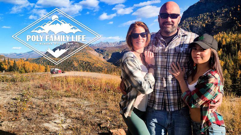 🆕New Scene 🎞️Poly Family Life: Alaska Road Trip - Episode 2 🎦Poly Family Life 🌟@AKGINGERSNAPS 🌟@LanaMarsxxx ⭐️@thedabbingdaddy 🎥@Adulttimecom