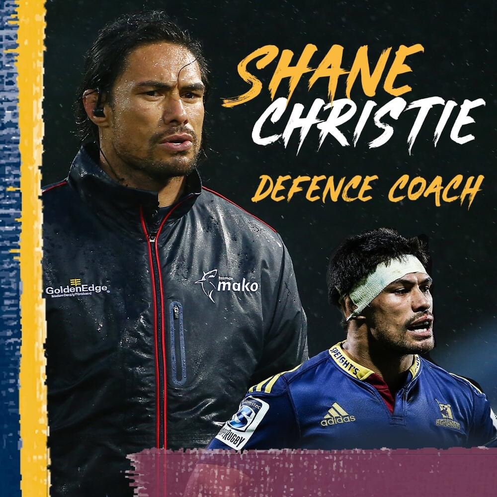 🚨ANNOUNCEMENT🚨  Shane Christie joins the coaching team as Defence Coach for 2021 👏👊🏽  Full Release: https://t.co/yTHLFq0AEf  #WeAreHighlanders https://t.co/sl7HzdBSL1