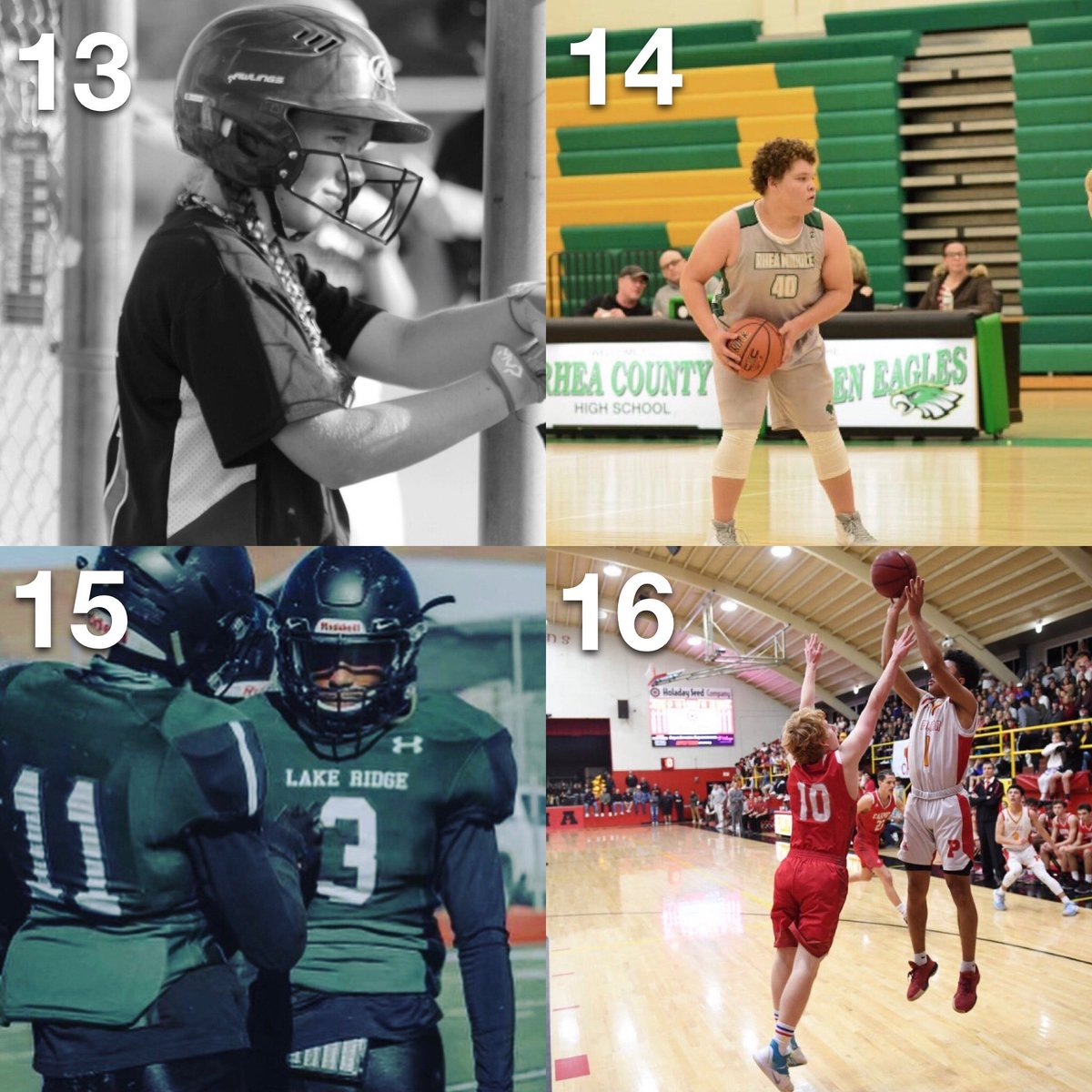 December is here 🎄❄️ #POTW  24 Pictures... 4 Will Move on Tag the@ of your favorite picture in the comments to vote for who wins #POTW  Download & Post with #POTW on the Sports Thread App to be featured⬇️  13:@Harley_baseball 14:@Moeshirley05 15:@jamaalhalljr 16:@Theekingnj
