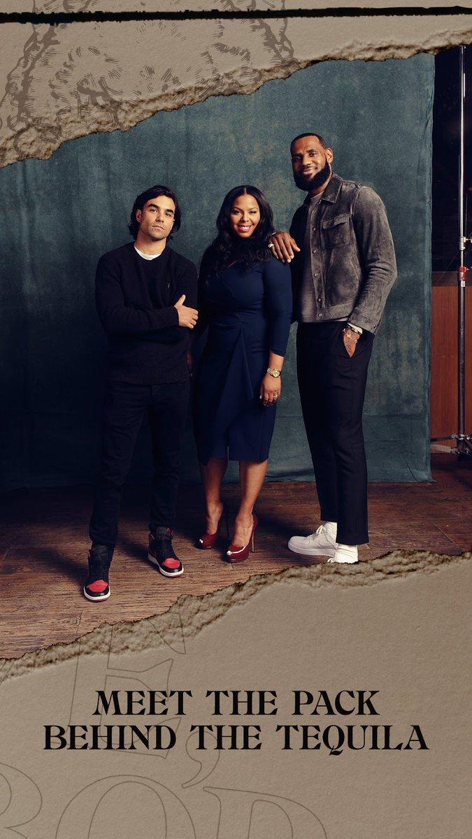 Meet the Pack:  #AllForThePack 🐺 @KingJames @diasimms