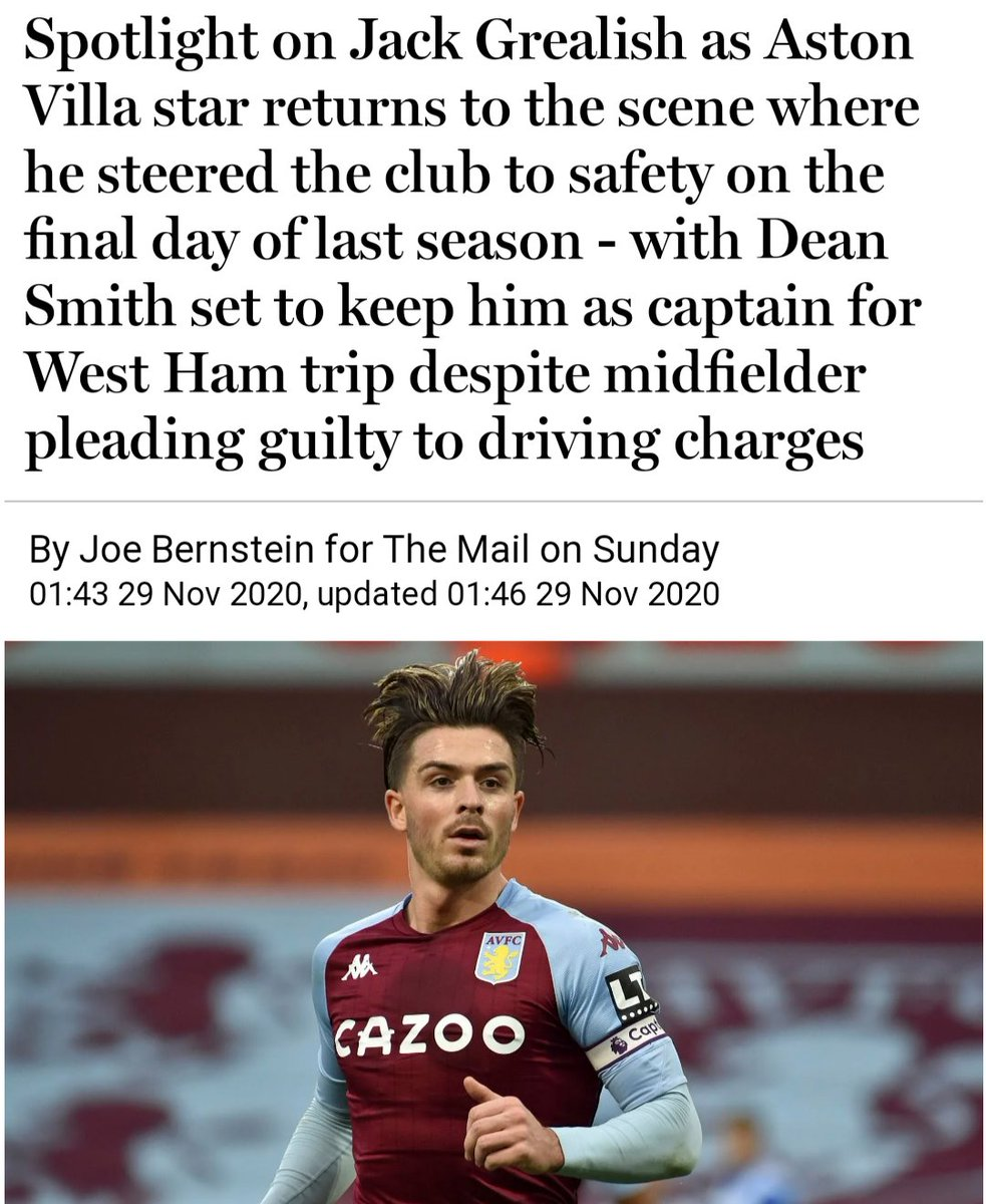 """@TheLawless """"Add careless diving to that, your Honour"""" 🤿  #Grealish #WHUAVL"""