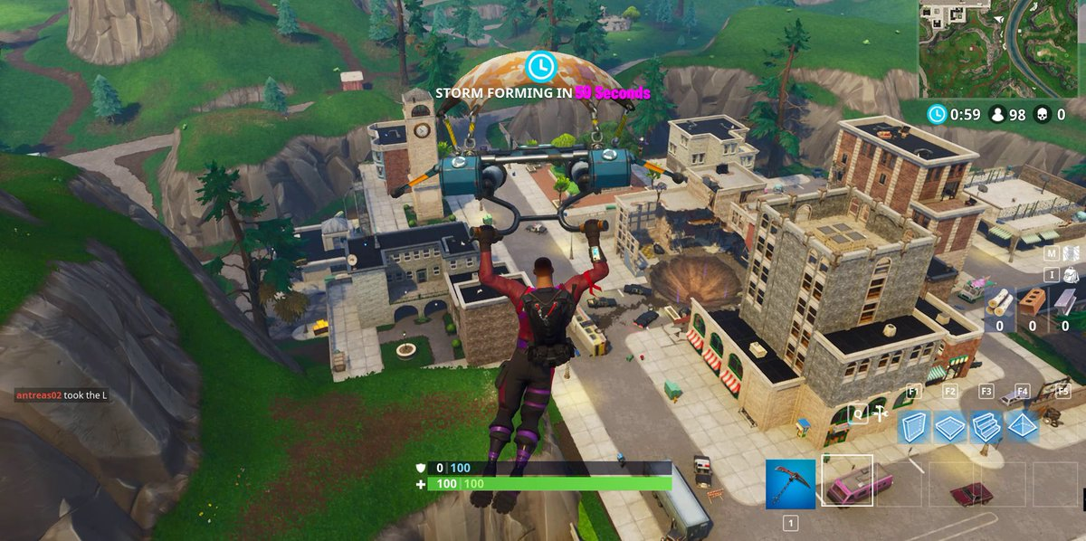 Dropping Tilted Towers rn
