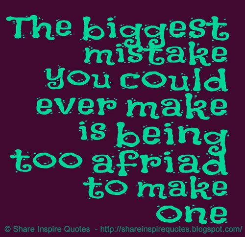 The biggest mistake you could ever make is being too afraid to make one.  YouTube Link - https://t.co/FsgdIl0EGW  #videoquotes #videos #youtube #youtubevideos #facebook #facebookvideos #instagram #mondaymotivation #motivational #motivationalquotes #motivationalvideos #whatsapp https://t.co/P4fUV7SBEt