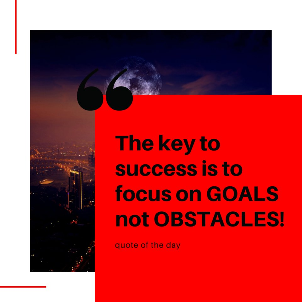 The key to success is to focus on GOALS not OBSTACLES!   #motivation #motivationalquotes #motivational  #motivationalquote  #motivations #motivationquotes #motivationquote #motivationalwords #CDMM #motivationalpost #motivationdaily  #motivation101 #motivationalquoteoftheday https://t.co/of8no9lEGH