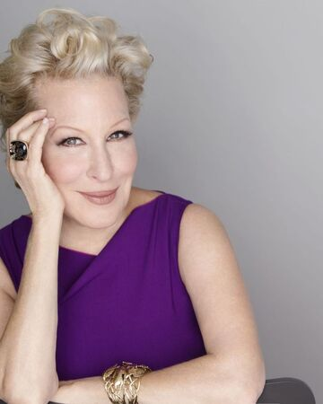 Happy birthday to this wonderful artist, Bette Midler! She puts on a hell of a show!