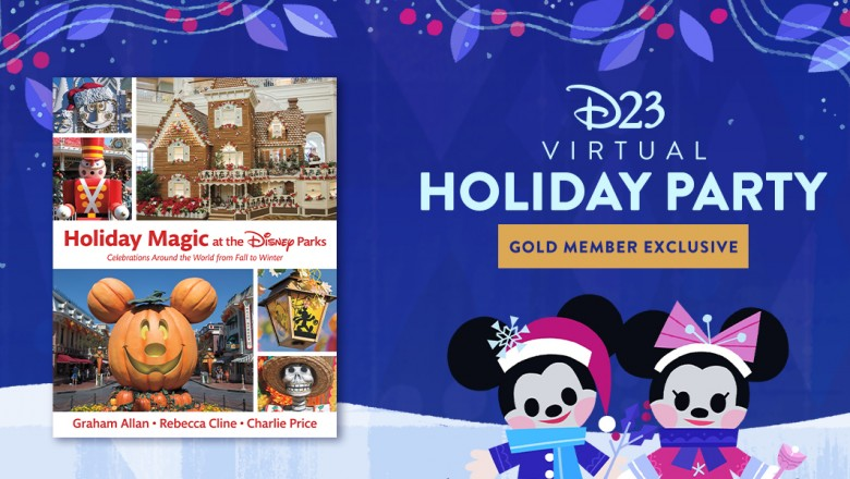 D23 Gold Members, join us for part two of our celebration of the book Holiday Magic at Disney Parks. Join authors Becky Cline, Charlie Price, and Graham Allan for a holly, jolly tour of the holiday traditions at @DisneyParks around the world: