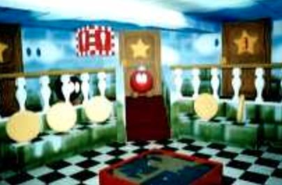 #startcisshaming  Did you know there was a Super Mario Bros Theme park attraction in Mexico? Its true! The House of Mario had many paths/exits, this room looks like the Princesses Castle in SM64! There are images of Tetris Rooms, a Bowser Room, and rumors of a DK room!