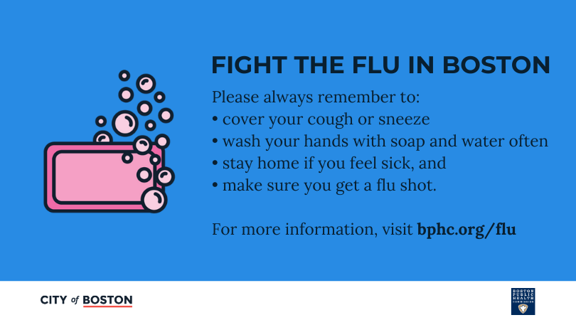 A #flushot is still the best way to prevent the #flu. If you don't have insurance, or if co-pays are a barrier, call the Mayor's Health Line at 617-534-5050. @HealthyBoston is providing vouchers for free #flu vaccines to uninsured or underinsured adults: https://t.co/AAKW7W8gnw https://t.co/81Pnh6hY2I
