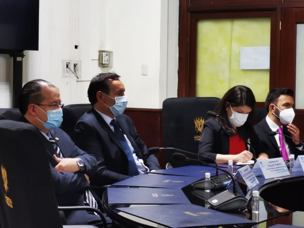 test Twitter Media - Misión de la OEA se reúne con miembros de la Junta Directiva del Congreso.📸: José Orozco/LH https://t.co/xNQZ3VhvtG
