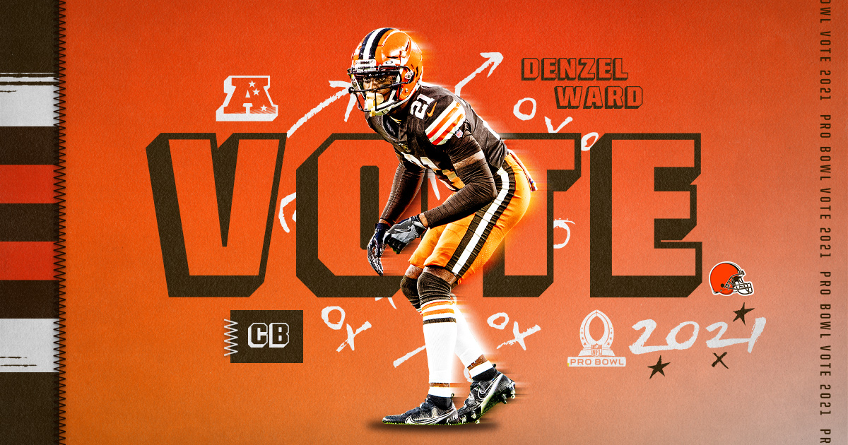 Replying to @Browns: RTs = Pro Bowl Votes!  #ProBowlVote + @denzelward