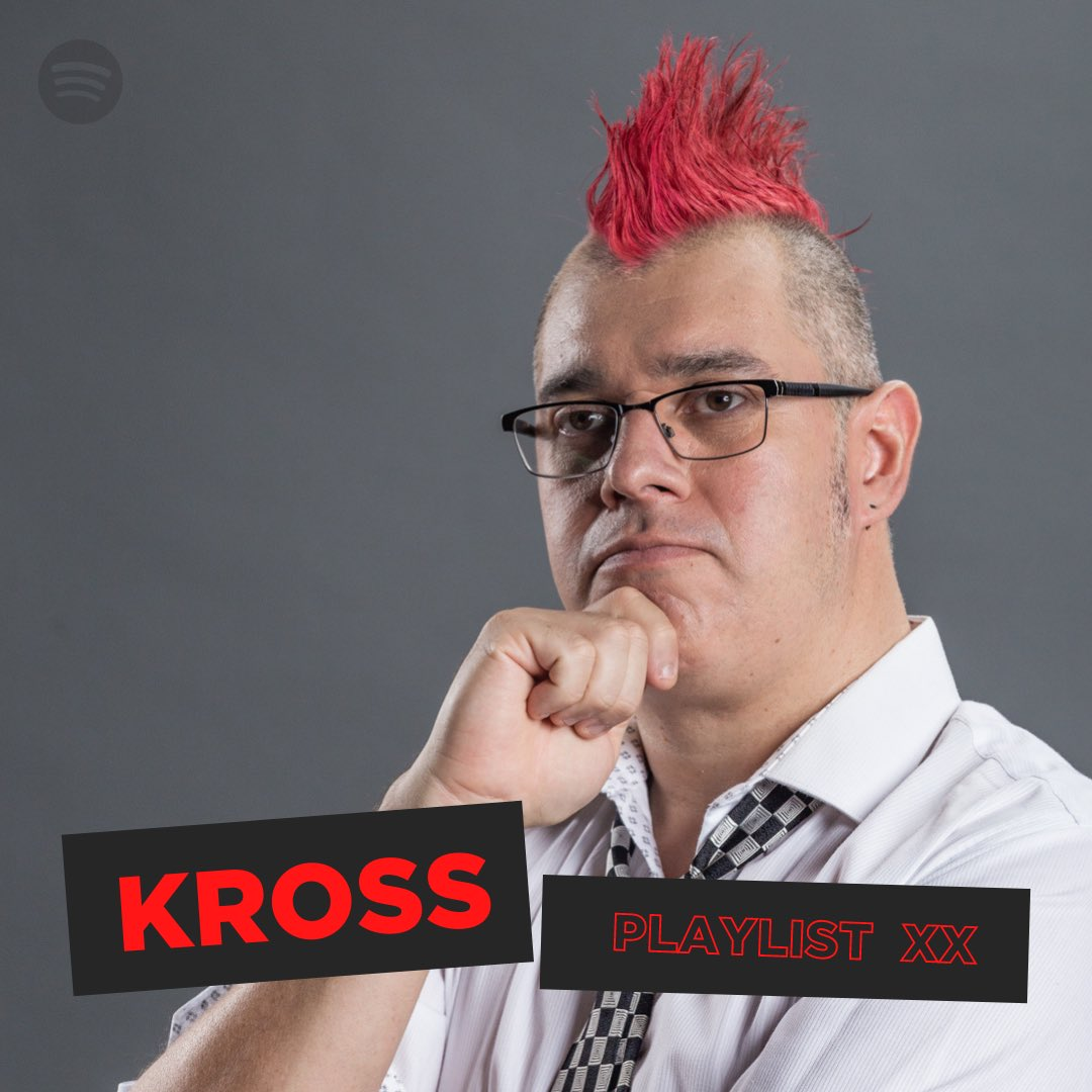 ¡Hoy una Playlist creada por Kross con todas sus canciones favoritas!  Sigue el link a @SpotifyMx y dale follow  🎧 https://t.co/v7ruywnbBa  #TodxsSomosPxndx https://t.co/OaN61LO2K6