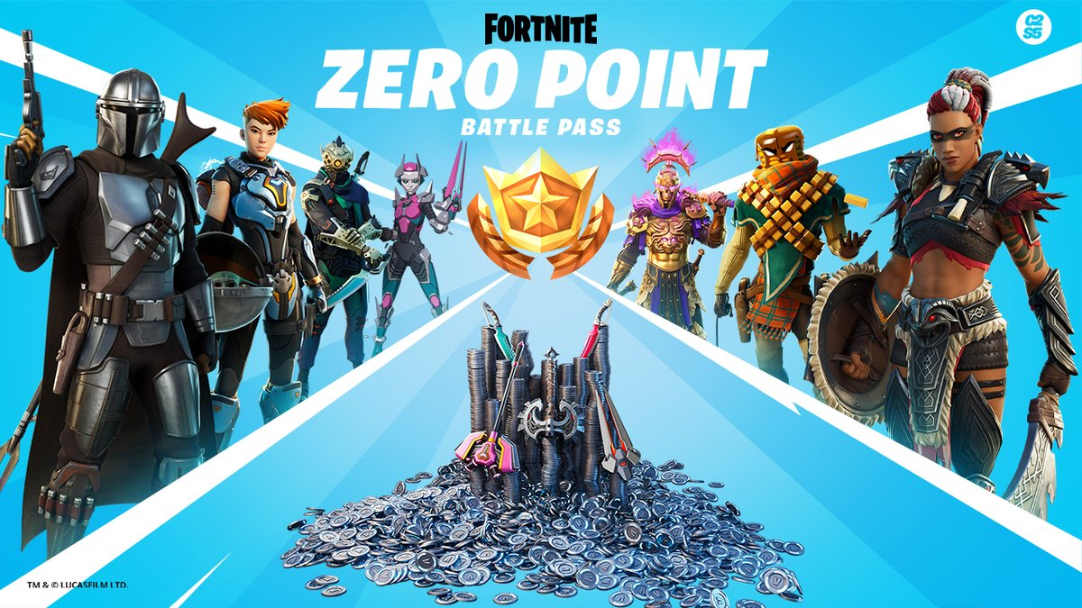 Join the Hunt.  The Zero Point has been unearthed and Agent Jones needs the help from the greatest Hunters there are. Fight alongside The Mandalorian, explore new locations, complete Bounties and stop the Chaos.  #FortniteZeroPoint begins now.
