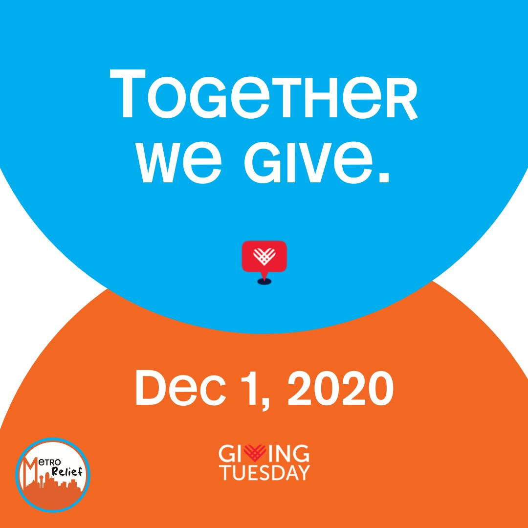 There's still time to participate in #GivingTuesday.  #MetroRelief #Homelessness #UnleashGenerosity