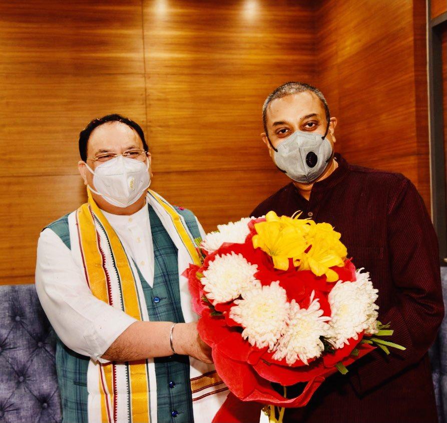 .@BJP4India के यशस्वी एवं मृदुभाषी राष्ट्रीय अध्यक्ष श्री @JPNadda जी को जन्मदिन की बहुत बहुत शुभकामनाएँ। ईश्वर आपको सदैव स्वस्थ और चिरंजीवी रहने का वरदान दे यही महादेव के चरणो में हमारी प्रार्थना है🙏