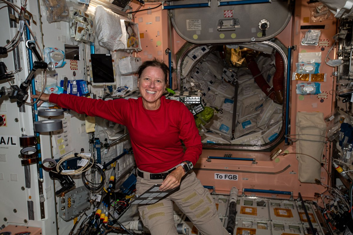 Two weeks ago, the @SpaceX #CrewDragon astronauts Shannon Walker, @Astro_illini, @AstroVicGlover and @Astro_Soichi arrived at the station expanding the Exp 64 crew and doubling up science. More...