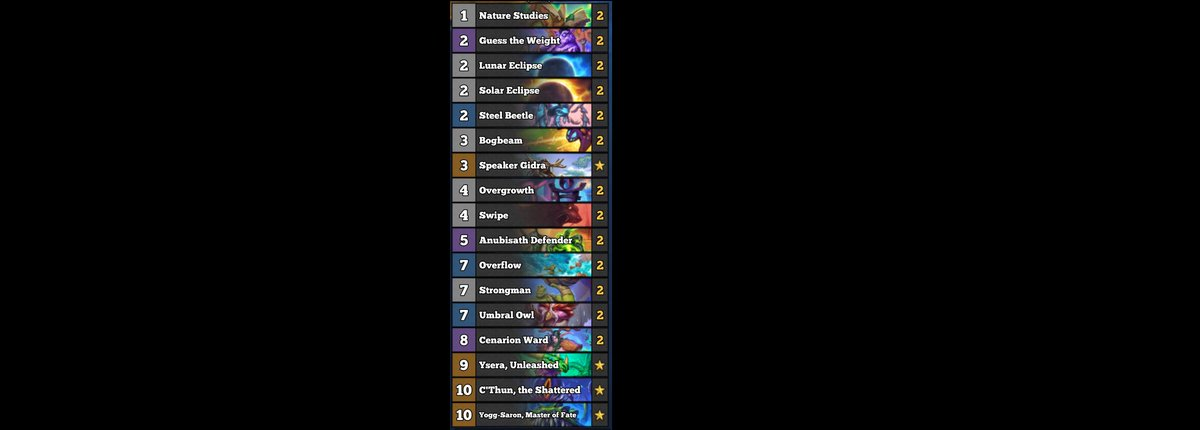 TrumpSC - Straight from TRUMP LABORATORIES C'Thun Druid has been on a roll!  Praise Yogg (and C'Thun)  More of it in action today!    AAECAZICBPatA/XOA53YA7/gAw1A76ID26UDxrcD6LoD7roDm84DieADiuADleADpOED0eED5uEDAA==