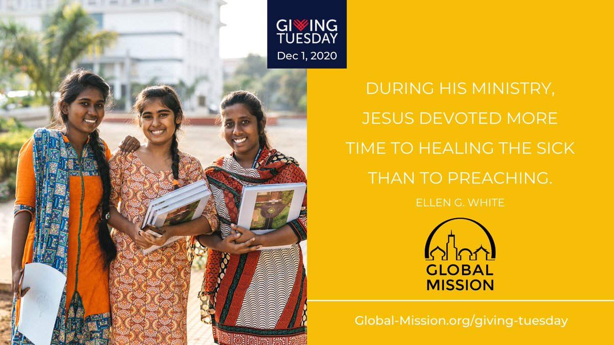 Your support of #GlobalMission today helps more pioneers serve around the world. Pioneers follow #ChristsMethod of ministry, as described by Ellen White, to minister to unreached people and plant churches. Visit .