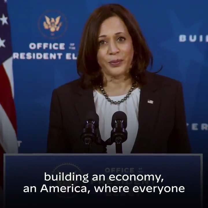 The economic team @JoeBiden and I introduced today are proven leaders, whose talents, achievements, and life stories reflect the very best of our country. Together we'll bring an end to this economic crisis and put people back to work.