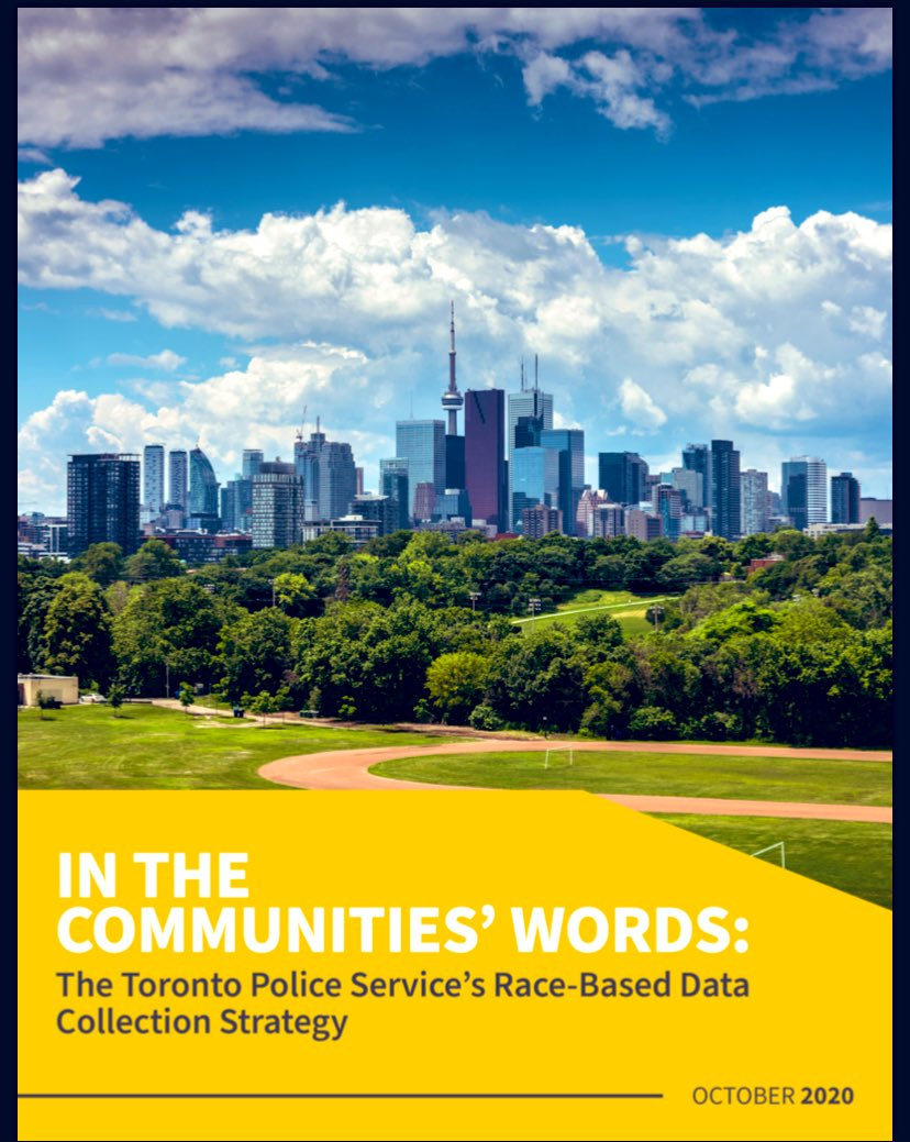 You can read the @TorontoPolice Race and Identity Based Data Community Engagement Report here 👇 torontopolice.on.ca/race-based-dat…