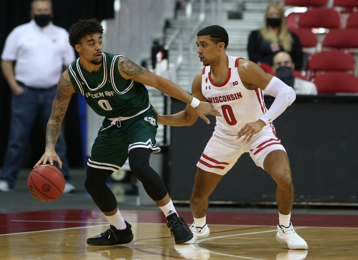 Wisconsin #Badgers men's basketball: Green Bay recap  UW wallops in-state Phoenix by 40 points in an early Tuesday matchup.