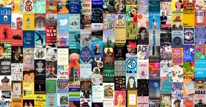 Readers rejoice! @NPR's Book Concierge for 2020, featuring hundreds of recommended titles, is now live!