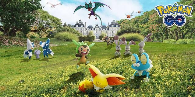 test ツイッターメディア - 『ポケモンGO』カロス地方のポケモンが本日から登場! https://t.co/NzlD6CEihm #ポケモンGO #pokemon #ポケモン https://t.co/9CvMNMMZoq
