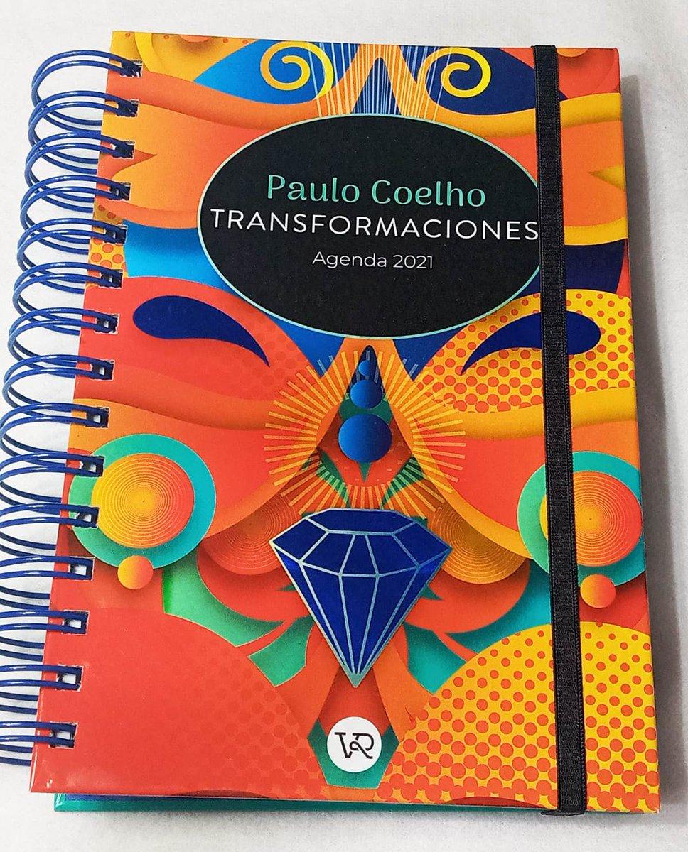 Agenda Coelho Anillada 790$ #PauloCoelho #AñoNuevo2021