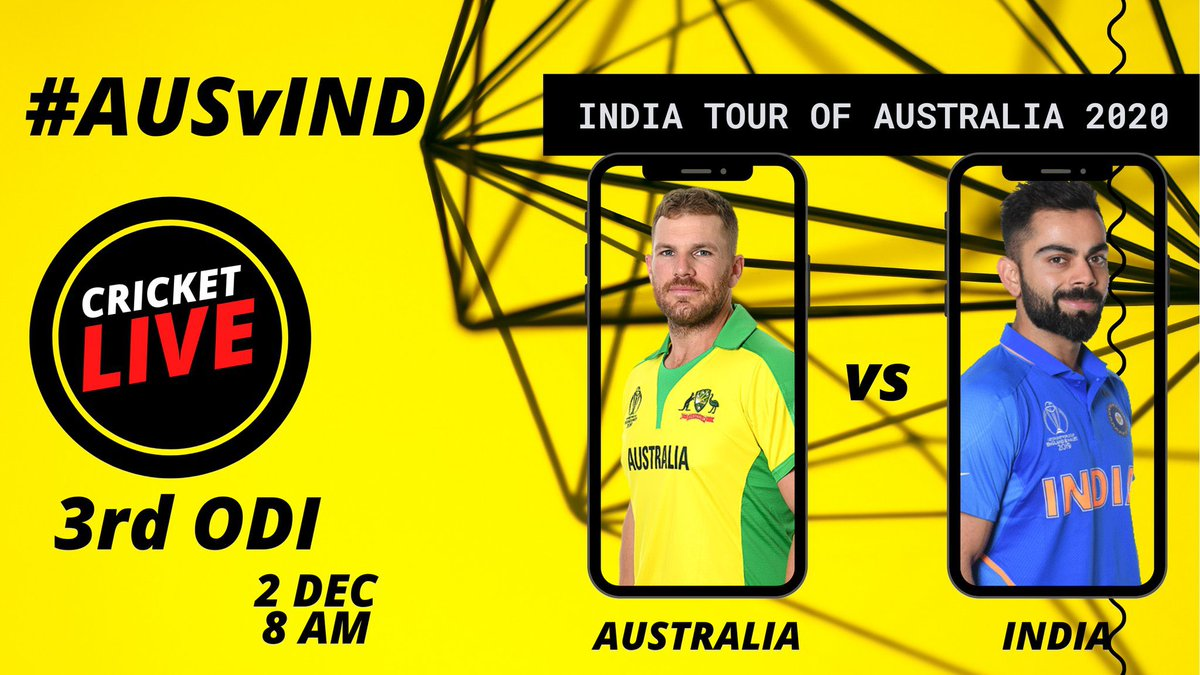 Australia Vs India, 3rd ODI Match Preview   #CricketLIVE   Today 8 AM on DD Sports & PB YouTube channel 📺 📲   #AUSvIND Set reminders here ⏰