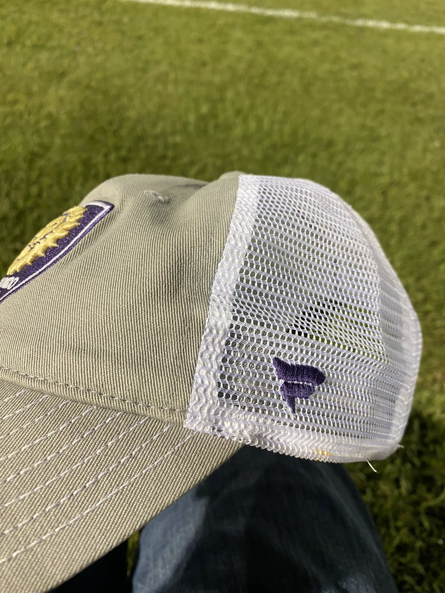 My @OrlandoCitySC hat still has remnants of an unfortunate accident involving a piece of pizza and a goal by Antonio Carlos! What an amazing season this was. So sad to see it end. #VamosOrlando #OrlandoCity