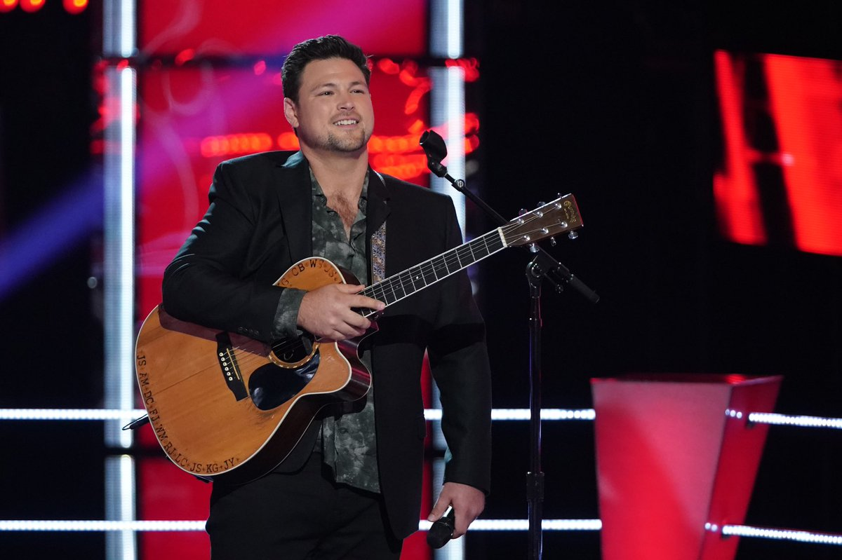 Thank you America!!!!! I am humbled and grateful to be continuing on the voice!!!  #TheVoice #teamblake