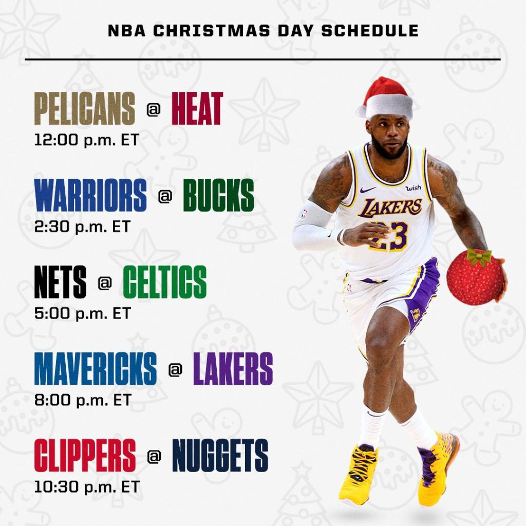 @SportsCenter's photo on Christmas Day