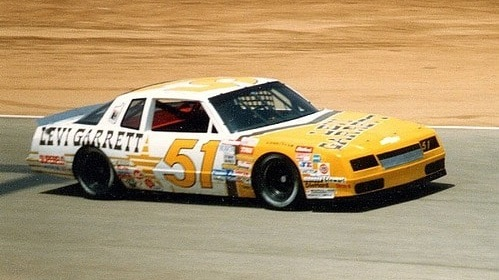 Jim Fitzgerald would have been 99 today #RIP Jim Fitzgerald was the winningest driver in SCCA history. In 1987, he was the oldest driver (65) to ever run a @NASCAR Cup race when he drove a Hendrick car at Riverside. He died in a Trans-Am race later that year.