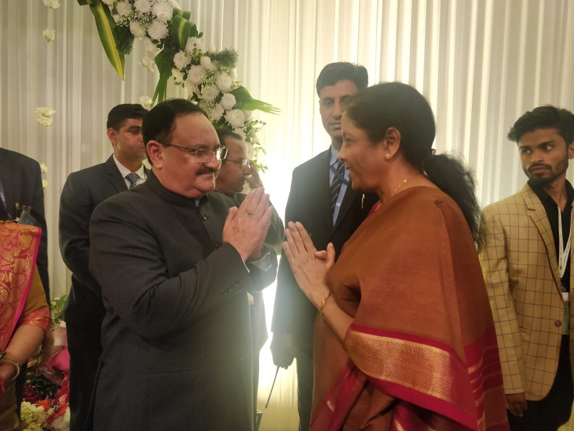 Birthday greetings to @BJP4India national president, the amiable @JPNadda ji. He sets standards in decorous conduct in public life. My prayers for his long and healthy life in the service of the nation.