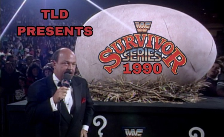 """Share #Thanksgiving leftovers with JR & Mikey for Survivor Series 1990! Who will make the Grand Finale of Ultimate Survival? Hulkster? Team Face Paint? Team Cocaine? How bout """"The Arriba Man"""" Chico Santana? Come for the Powerplex, stay for the The Gooker. https://t.co/8blpLJ6OFq https://t.co/n7a2iRiRcK"""