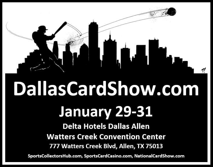 It's December 1, so we can now say that our next three day #cardshow is next month!   #Stars #GoStars #DallasStars #Mavs #Mavericks #DallasMavs #Luka #Cowboys #CowboysNation #DallasCowboys #Rangers #TXRangers #TogetherWe #MFFL #collect #thehobby #cardshows https://t.co/uIjj87SDCx