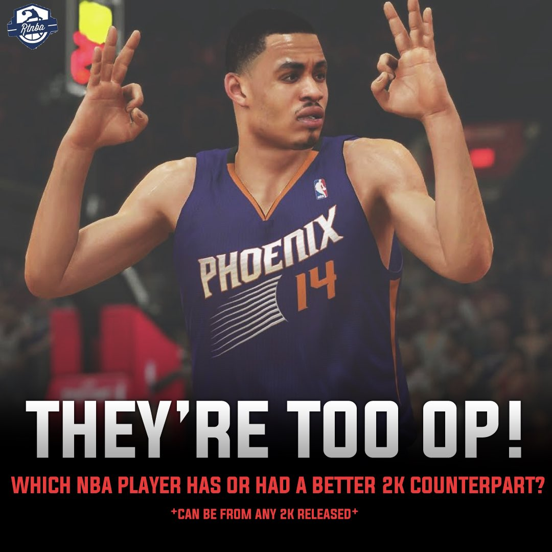 Replying to @RTNBA: Who's the most broken 2k player ever?