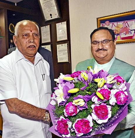 Warm Birthday wishes to our National President Shri J.P.Nadda Ji. Praying for your long and healthy life, in service of the nation.  @JPNadda