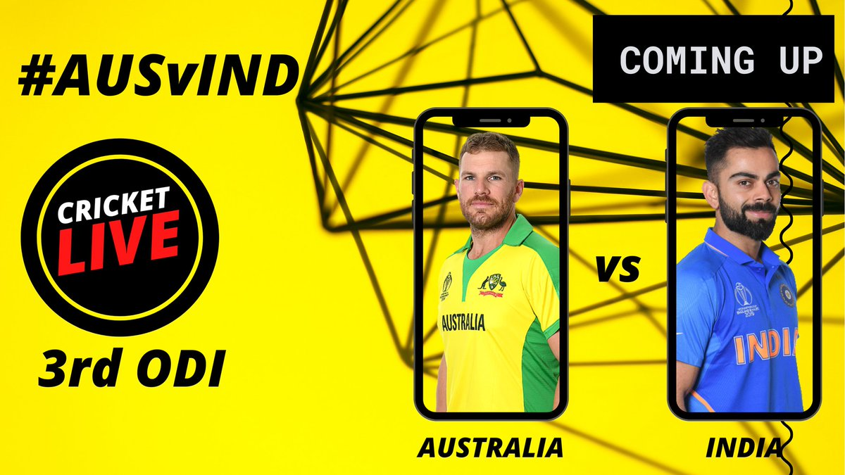 Watch our special show #CricketLive where sports experts give you match analysis and preview before 3rd ODI #AUSvIND  🗓️ Today ⏰ 8 AM on DD Sports & PB Sports YouTube Channel 📺 📲  Link: