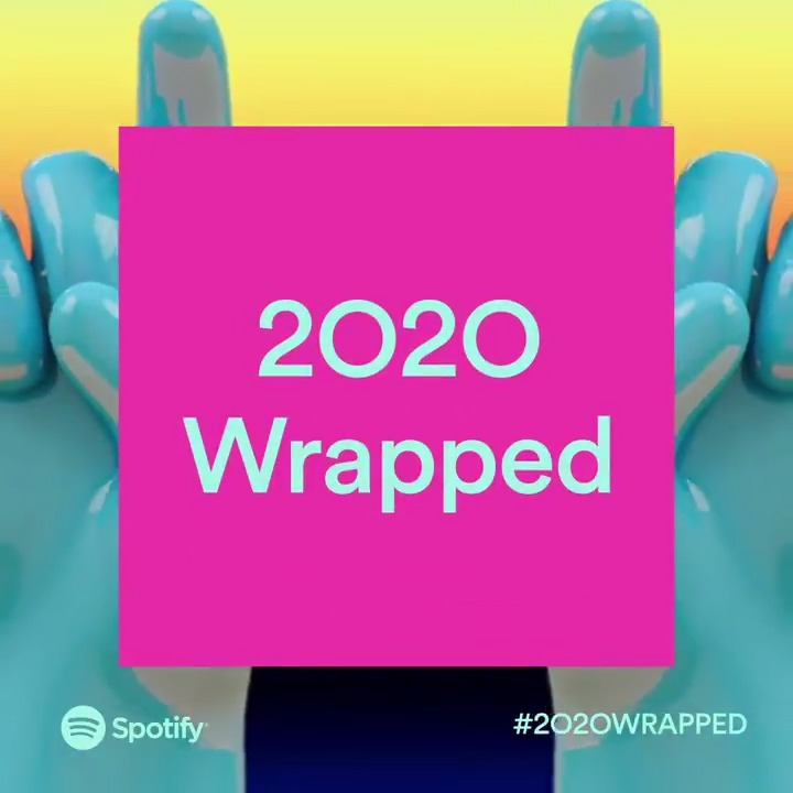 #2020Wrapped is finally here! 👉 spotify.com/wrapped 👈